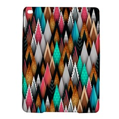 Background Pattern Abstract Triangle iPad Air 2 Hardshell Cases