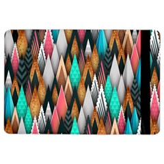 Background Pattern Abstract Triangle iPad Air 2 Flip