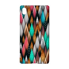 Background Pattern Abstract Triangle Sony Xperia Z3+