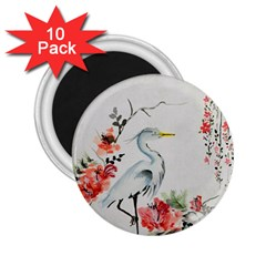 Background Scrapbook Paper Asian 2.25  Magnets (10 pack)