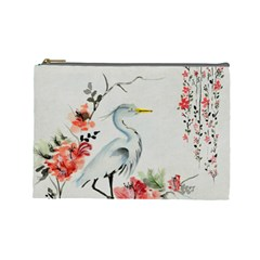 Background Scrapbook Paper Asian Cosmetic Bag (Large)