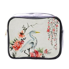 Background Scrapbook Paper Asian Mini Toiletries Bags