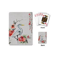 Background Scrapbook Paper Asian Playing Cards (Mini)