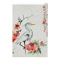 Background Scrapbook Paper Asian Shower Curtain 48  x 72  (Small)