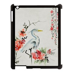 Background Scrapbook Paper Asian Apple iPad 3/4 Case (Black)