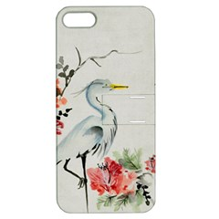 Background Scrapbook Paper Asian Apple iPhone 5 Hardshell Case with Stand