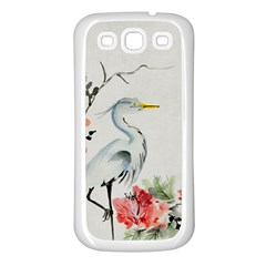 Background Scrapbook Paper Asian Samsung Galaxy S3 Back Case (White)