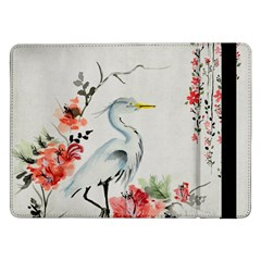 Background Scrapbook Paper Asian Samsung Galaxy Tab Pro 12.2  Flip Case