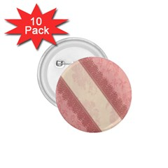 Background Pink Great Floral Design 1.75  Buttons (10 pack)