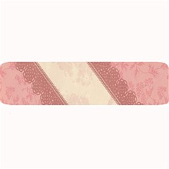 Background Pink Great Floral Design Large Bar Mats