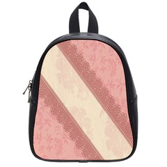 Background Pink Great Floral Design School Bags (Small)