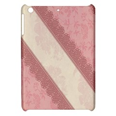 Background Pink Great Floral Design Apple iPad Mini Hardshell Case