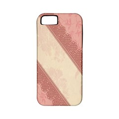 Background Pink Great Floral Design Apple iPhone 5 Classic Hardshell Case (PC+Silicone)
