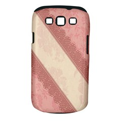 Background Pink Great Floral Design Samsung Galaxy S III Classic Hardshell Case (PC+Silicone)
