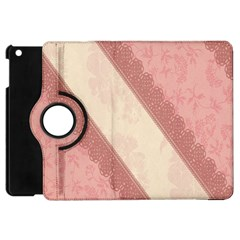 Background Pink Great Floral Design Apple iPad Mini Flip 360 Case