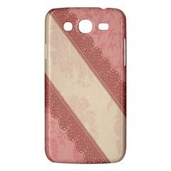 Background Pink Great Floral Design Samsung Galaxy Mega 5.8 I9152 Hardshell Case