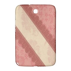 Background Pink Great Floral Design Samsung Galaxy Note 8.0 N5100 Hardshell Case