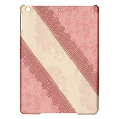 Background Pink Great Floral Design iPad Air Hardshell Cases