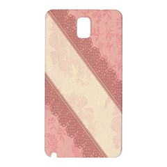 Background Pink Great Floral Design Samsung Galaxy Note 3 N9005 Hardshell Back Case