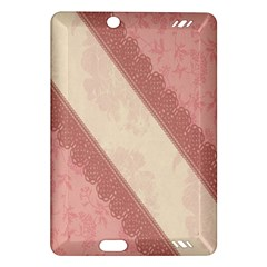 Background Pink Great Floral Design Amazon Kindle Fire HD (2013) Hardshell Case