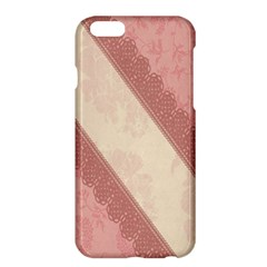 Background Pink Great Floral Design Apple iPhone 6 Plus/6S Plus Hardshell Case