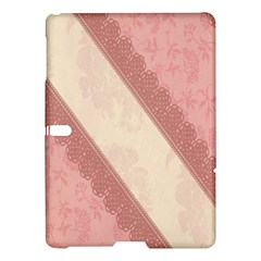 Background Pink Great Floral Design Samsung Galaxy Tab S (10.5 ) Hardshell Case