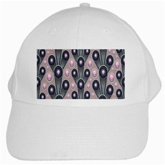 Background Abstract Pattern Grey White Cap