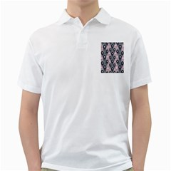 Background Abstract Pattern Grey Golf Shirts
