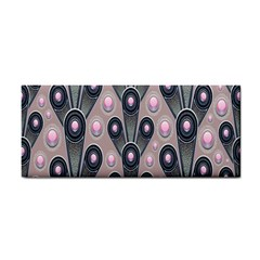 Background Abstract Pattern Grey Cosmetic Storage Cases