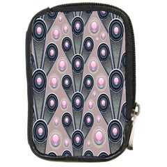 Background Abstract Pattern Grey Compact Camera Cases