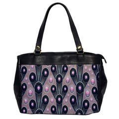 Background Abstract Pattern Grey Office Handbags