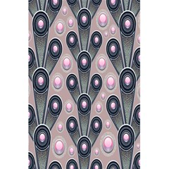 Background Abstract Pattern Grey 5.5  x 8.5  Notebooks