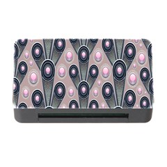Background Abstract Pattern Grey Memory Card Reader with CF