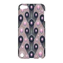 Background Abstract Pattern Grey Apple iPod Touch 5 Hardshell Case
