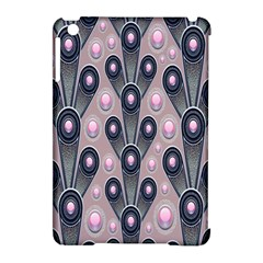Background Abstract Pattern Grey Apple iPad Mini Hardshell Case (Compatible with Smart Cover)