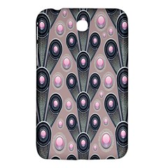 Background Abstract Pattern Grey Samsung Galaxy Tab 3 (7 ) P3200 Hardshell Case