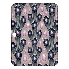 Background Abstract Pattern Grey Samsung Galaxy Tab 3 (10.1 ) P5200 Hardshell Case