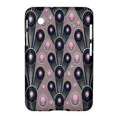 Background Abstract Pattern Grey Samsung Galaxy Tab 2 (7 ) P3100 Hardshell Case