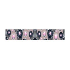 Background Abstract Pattern Grey Flano Scarf (Mini)