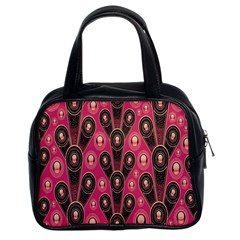 Background Abstract Pattern Classic Handbags (2 Sides)