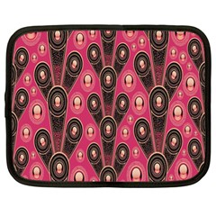 Background Abstract Pattern Netbook Case (XL)
