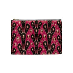 Background Abstract Pattern Cosmetic Bag (Medium)