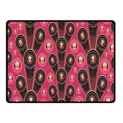 Background Abstract Pattern Fleece Blanket (Small)