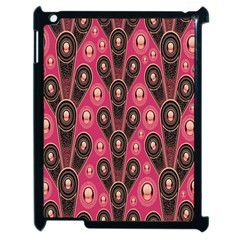 Background Abstract Pattern Apple iPad 2 Case (Black)