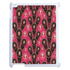Background Abstract Pattern Apple iPad 2 Case (White)
