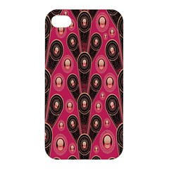 Background Abstract Pattern Apple iPhone 4/4S Premium Hardshell Case