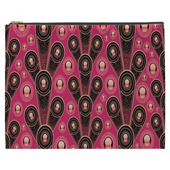 Background Abstract Pattern Cosmetic Bag (XXXL)