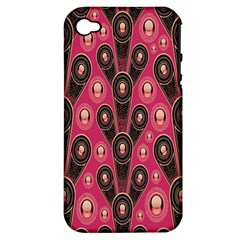 Background Abstract Pattern Apple iPhone 4/4S Hardshell Case (PC+Silicone)
