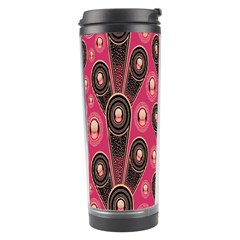 Background Abstract Pattern Travel Tumbler
