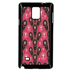 Background Abstract Pattern Samsung Galaxy Note 4 Case (Black)